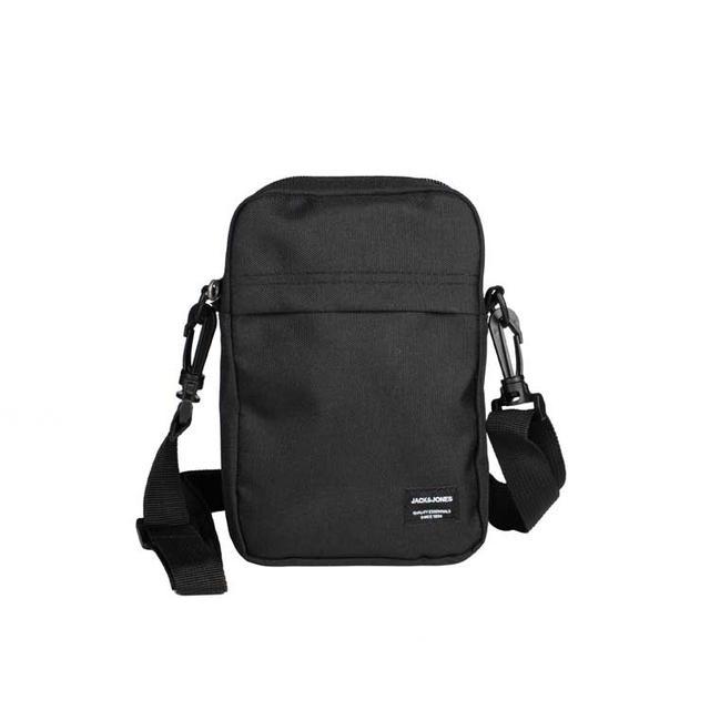 Невелика чоловіча сумка через плече Jack&Jones чорного кольору