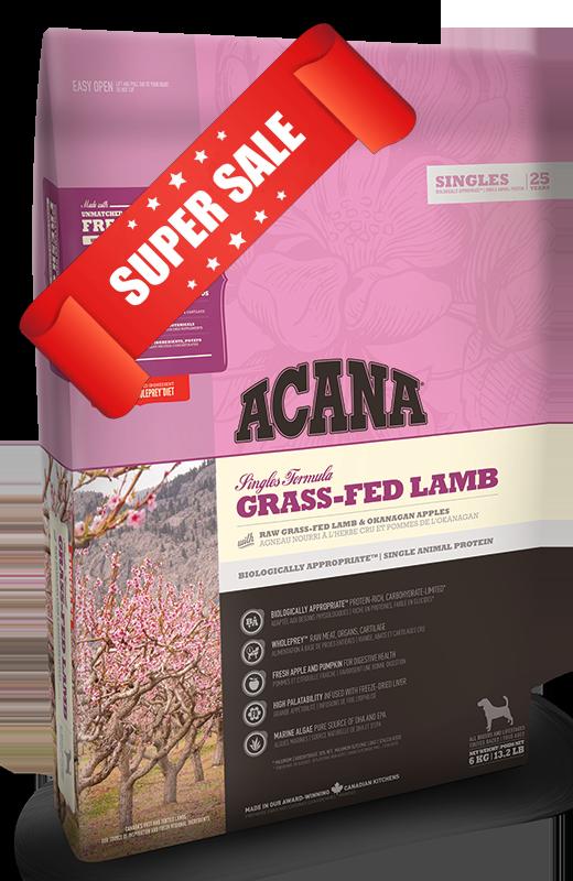 Сухой корм для собак Acana Grass-Fed Lamb 11,4 кг