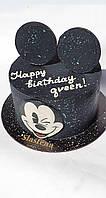 Торт для стильной девушки (кремовый без мастики) Black Cake