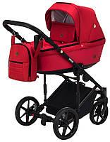 Универсальная коляска 2 в 1 Adamex Amelia (красный цвет)