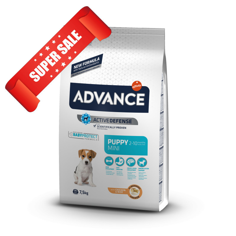 Сухой корм для собак Advance Mini Puppy 800 г