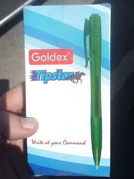 Ручка шариковая Tip star синяя Goldex 12шт
