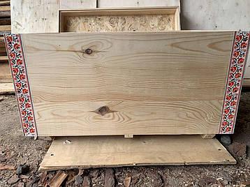 Улей лежак 24 рамки в этно-стиле, фото 2