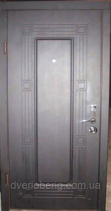 Входная дверь модель П3-347 венге темный, фото 2