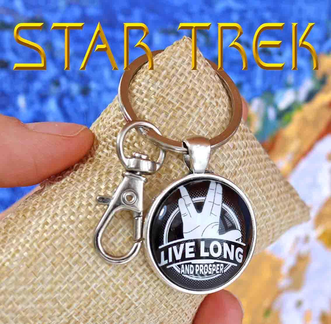 Брелок Star Trek Звездный Путь Вулканский салют Live long and prosper