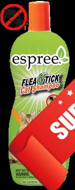 Шампунь для котов Espree Flea & Tick Cat Shampoo 355 мл