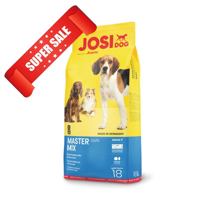 Сухой корм для собак JosiDog Master Mix 900 г