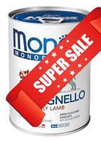 Влажный корм для собак Monge Monoprotein Lamb 400 г