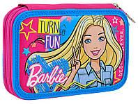 """532111 Пенал твердый 1Вересня двойной HP-01 """"Barbie""""                                             , фото 1"""