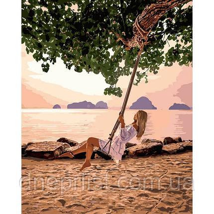 """Картина по номерам Люди """"Воздушный рай"""", 40х50 см, 5*, фото 2"""