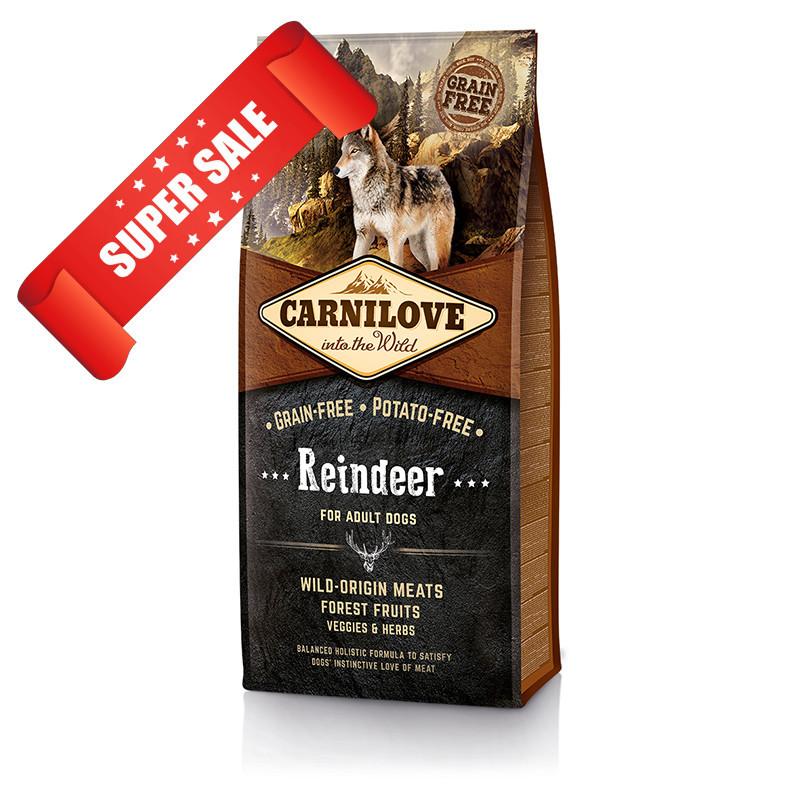 Сухой корм для собак Carnilove Dog Adult Reindeer 1,5 кг