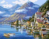 Картина по Номерам Гальштат Австрия, фото 1