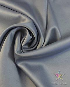 Ткань Атлас тонкий Серый