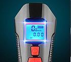 Велосипеный фонарь клаксон спидометр и пульт 800lm USB LCD вело фара, фото 4