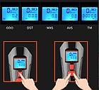 Велосипеный фонарь клаксон спидометр и пульт 800lm USB LCD вело фара, фото 7