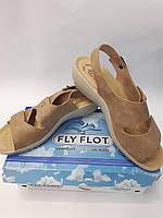 Женские кожаные босоножки FLY FLOT Италия сабо женские р.39-41