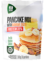 Смесь ореховая для приготовления панкейков ФитПарад Fit Active со вкусом Банана (300 грамм)