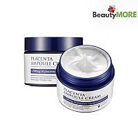 Антивозрастной, укрепляющий и питательный плацентарный крем для лица Mizon Placenta Ampoule Cream