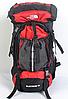 Туристический рюкзак The North Face на 60 литров + чехол дощовик, фото 2