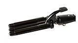 Плойка волна тройная профессиональная PRO MOZER MZ-6621, фото 4