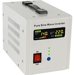 ДБЖ+стабілізатор (інвертор) 2600ВА/1800/24В, AXEN.IA-2600VA новий дисплей