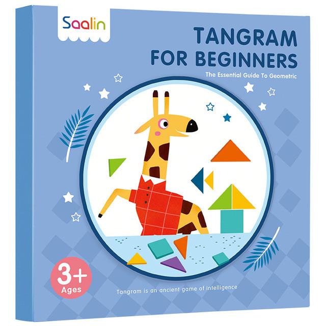 Танграм для початківців Магнітна гра головоломка (Tangram for Beginners)
