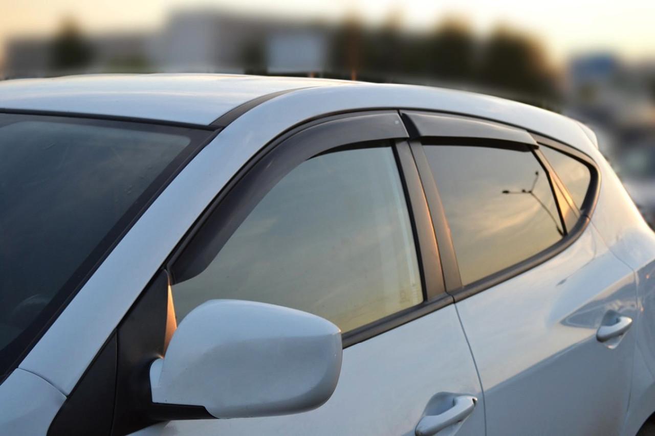 Дефлекторы окон (ветровики) Fiat Doblo 2d 2010 - 2018 (VL)