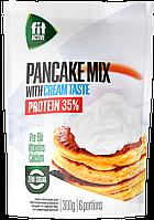 Смесь ореховая для приготовления панкейков ФитПарад Fit Active со вкусом Сливок (300 грамм)