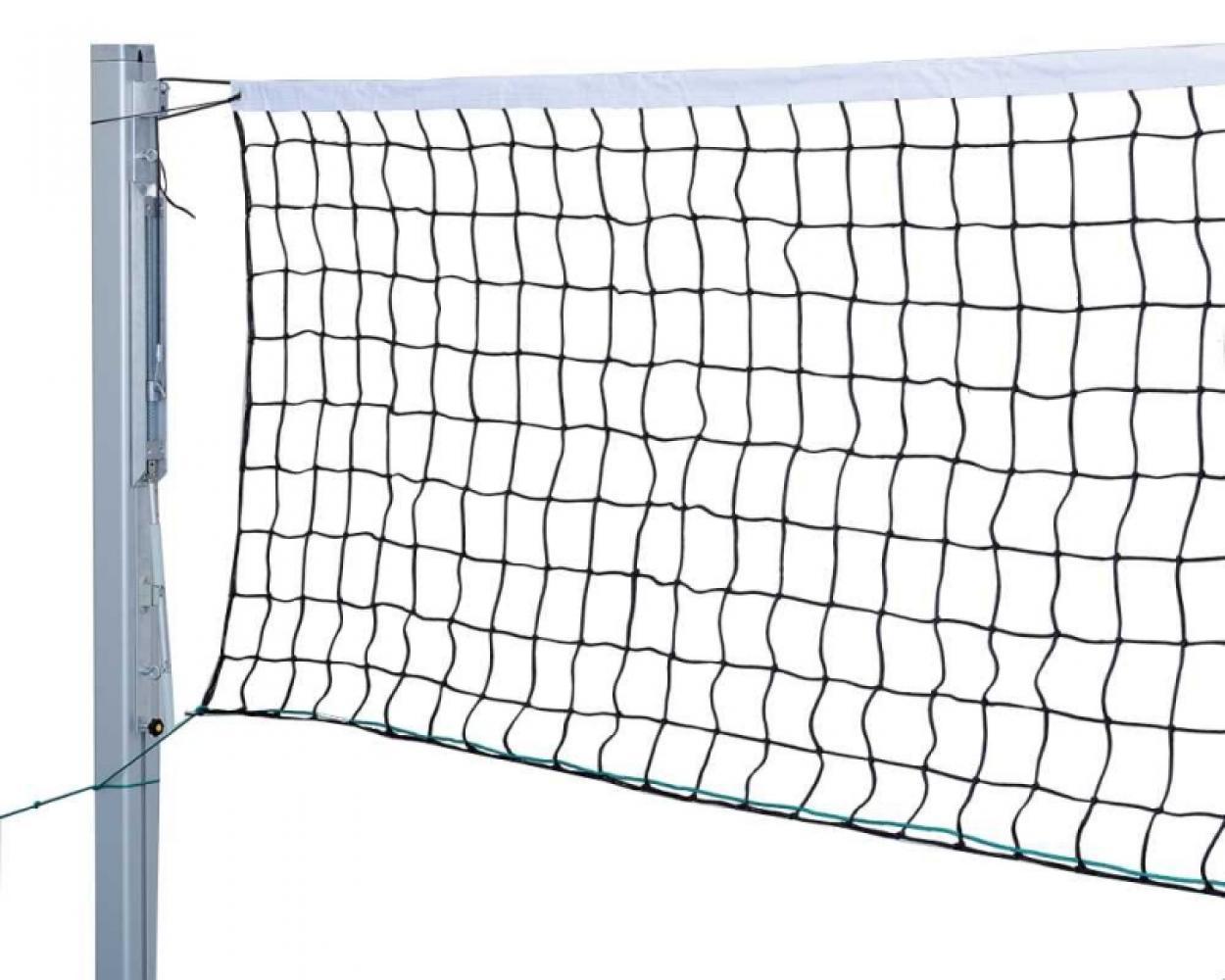 Сетка волейбольная 1 м х 9,5 м (черный)