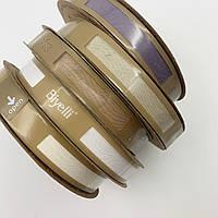 Бейка хлопковая пыльно-фиолетовая 20 мм