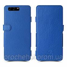 Чехол книжка Stenk Prime для HuaWei P10 Plus Ярко-синий
