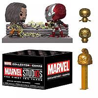 Бокс Funko Marvel Collectors Фанко Марвел Марвел 10-летие Marvel Studios 10 years BOX F M 4