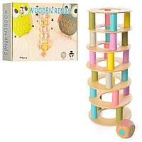 Деревяннаяянная игрушка MD 1224  башня
