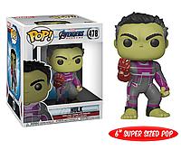 Фигурка Funko Pop Фанко Поп 15 см Мстители Финал Халк Avengers Endgame Hulk AE H 478