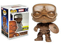 Фигурка Funko Pop Фанко Поп Марвел Эксклюзив Капитан Америка Marvel Exclusive Captain America 10 см M CA 584