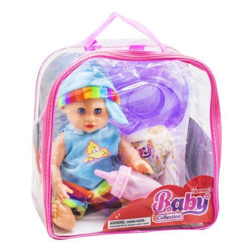 """Функциональный пупс """"Mommy's Baby"""" (в голубом) NEW109A/C/D/E"""