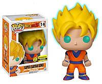 Фигурка Funko Pop Фанко Поп Exclusive Супер Сон Гоку Жемчуг драконаDragon Ball Saiyan Goku  Anime DB SG 14 gl