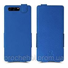 Чехол флип Stenk Prime для HuaWei P10 Plus Ярко-синий