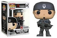Фигурка Funko Pop Фанко Поп Шестерни войны Маркус Феникс Gears Of War MarcusFenix 10 см Game GW M 474