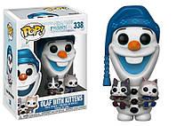 Фигурка Funko Pop Фанко ПопОлаф с котами Холодное сердце Frozen Olaf with KittensCartoon F O338
