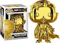 Фигурка Funko Pop Фанко Поп Марвел Доктор Стрэндж Marvel Studios Doctor Strange Chrome 10 см MS DS 439