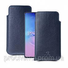 Футляр Stenk Elegance для Samsung Galaxy S10 Lite Синий