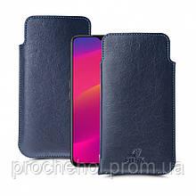 Футляр Stenk Elegance для OPPO A5 (2020) Синий