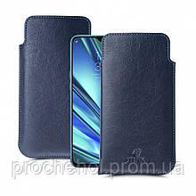 Футляр Stenk Elegance для Realme 5 Pro Синий