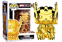 Фигурка Funko Pop Фанко Поп Marvel Studios Тор Thor(Chrome) 10 см MS Т381