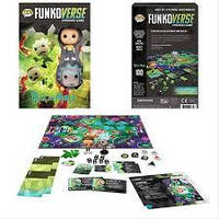 Настольная игра Рик и Морти Funkoverse Strategy Game Rick and Morty 101 Expandalone game Funkoverse RM