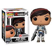 Фигурка Funko Pop Фанко ПопШестеренки Войны Кейт Диаз Gears of War 3 Kait Diaz 10 см Game GW KD475
