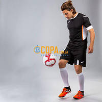 Комплект футбольной формы Joma Roma Set II - (черный/белый) - сезон 2019-2020