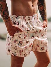 Мужские пляжные шорты с принтом Asos Muffins, фото 2