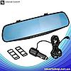 """Автомобильный видеорегистратор DVR-138W FullHD 1080p 4,3"""" - видеорегистратор зеркало заднего вида (2 камеры), фото 2"""
